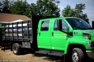Hosanna Industries green truck